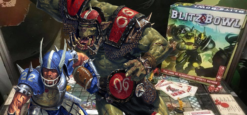 Blitz Bowl - Umani contro Orchi