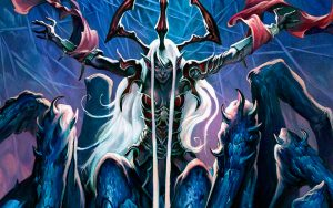Lolth, Regina ragno e crudele dea degli Elfi Oscuri
