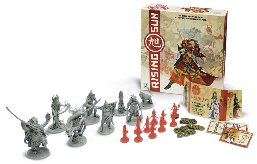 Rising Sun - Guerre e battaglie nel Gappone feudale...coi mostri!