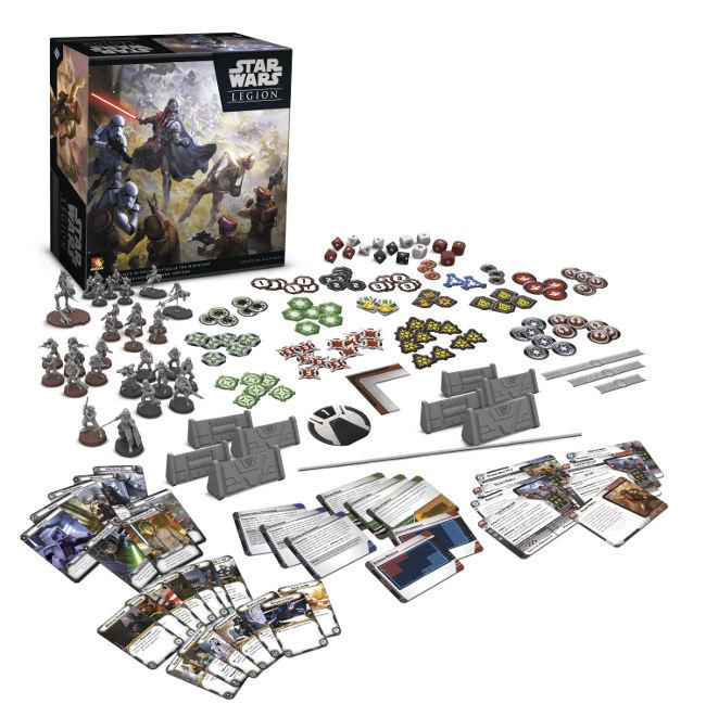 Star Wars: Legion - Le miniature dell'impero schiacceranno le miniature della feccia ribelle
