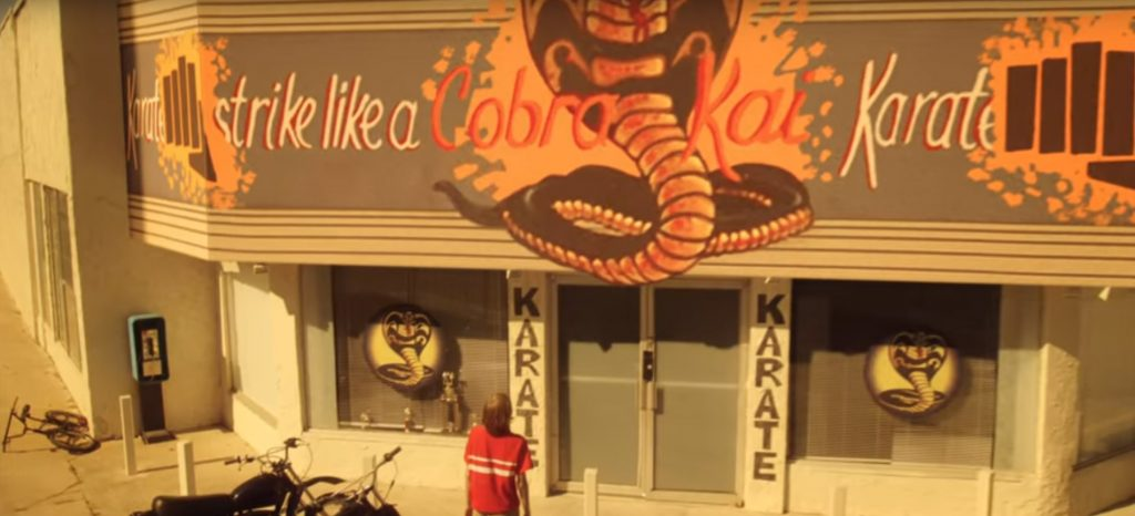 Strike like a COBRA KAI Karate Club