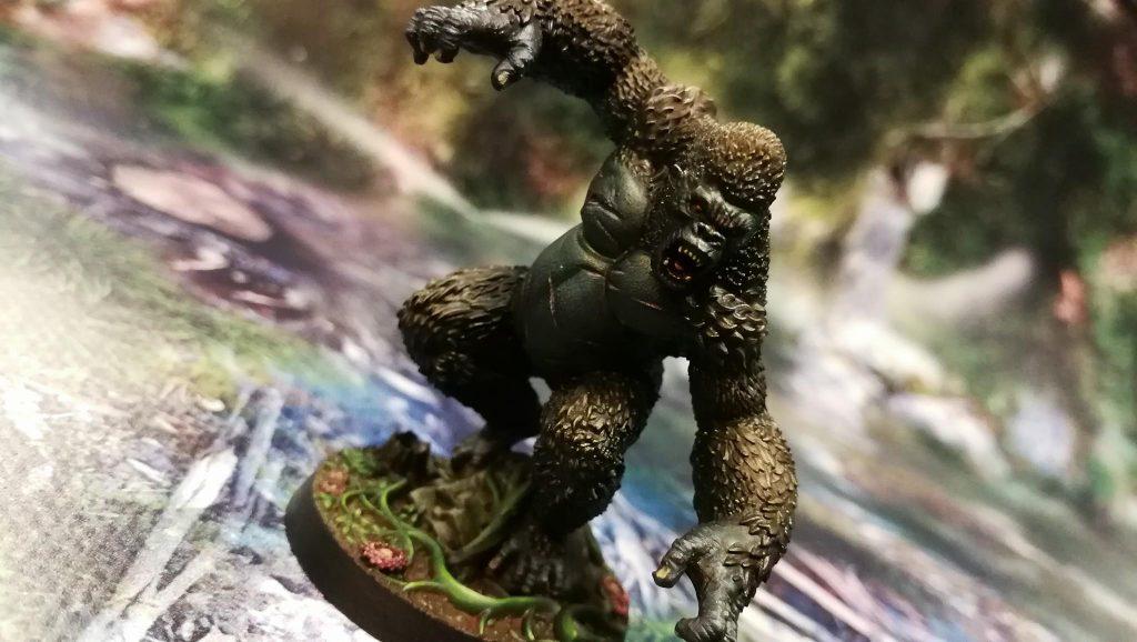 Solomon Kane - Un gorilla arrabbiato, dipinto magistralmente da Seb Lavigne