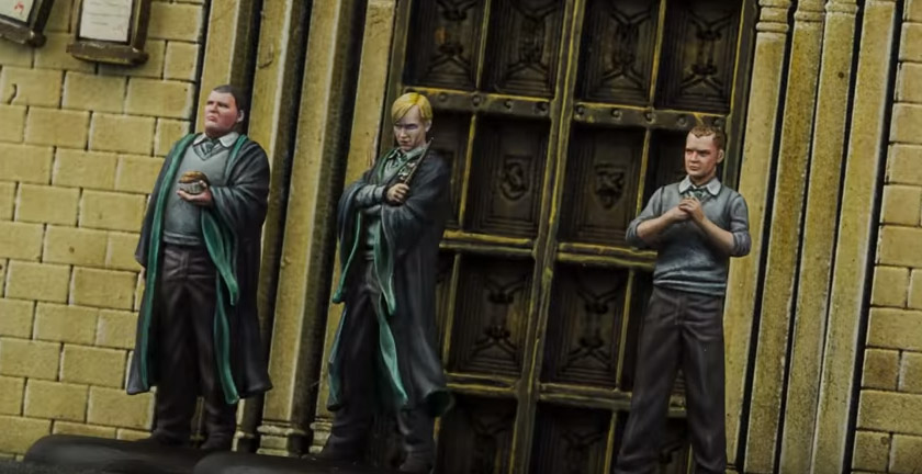 Draco Malfoy, Vincent Tiger e Gregory Goyle