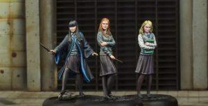 Luna Lovegood, Ginny Weasley e Cho Chang