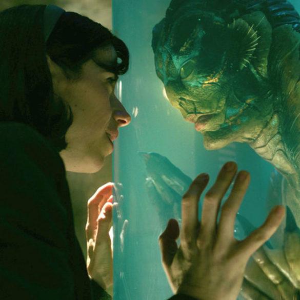 La forma dell'acqua - Una scena del film