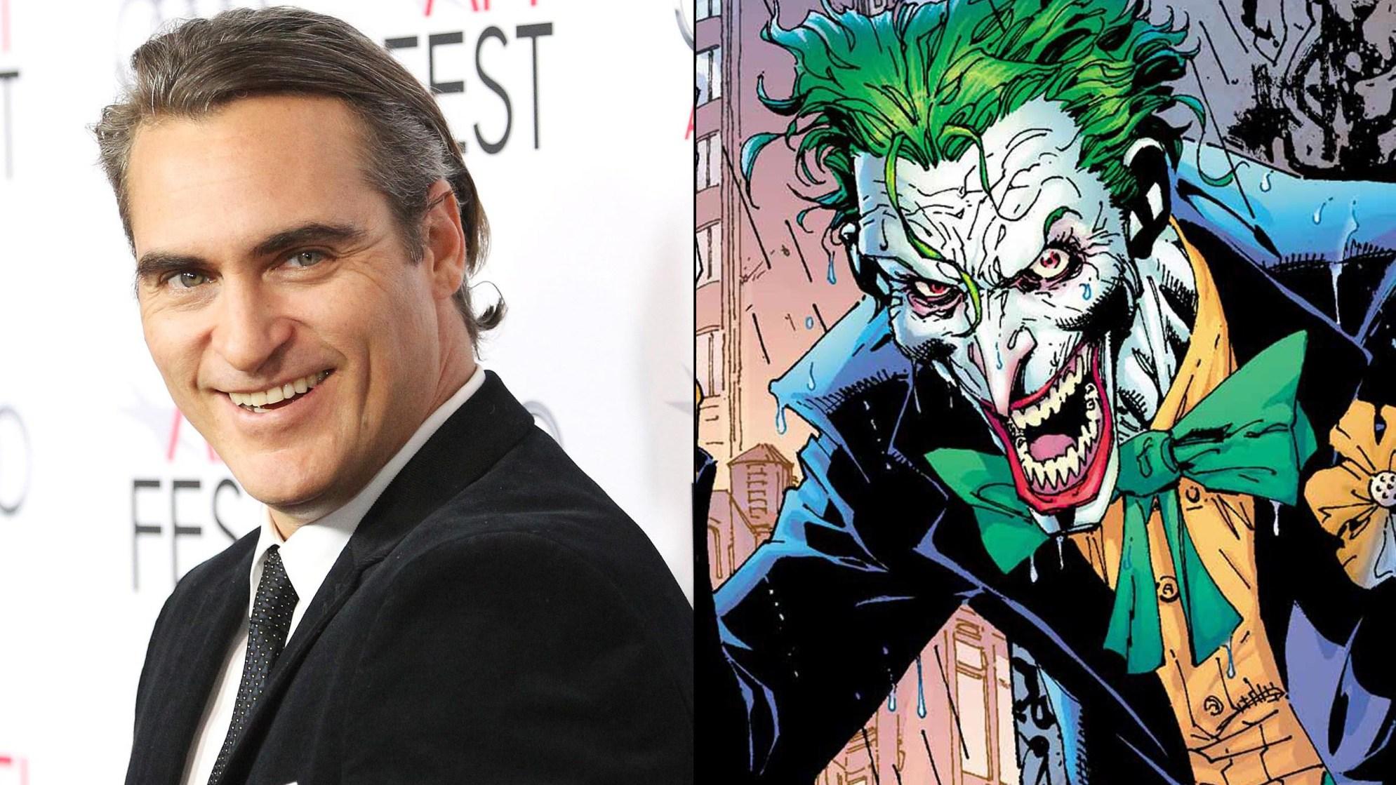 Joaquin Phoenix nel ruolo di Joker