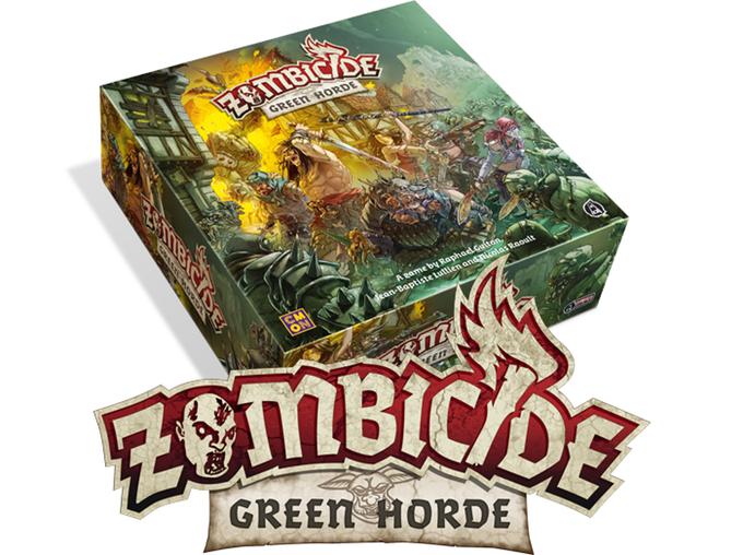 Zombicide Green Horde, ultimo capitolo della saga, ha raccolto oltre 5 milioni di dollari!