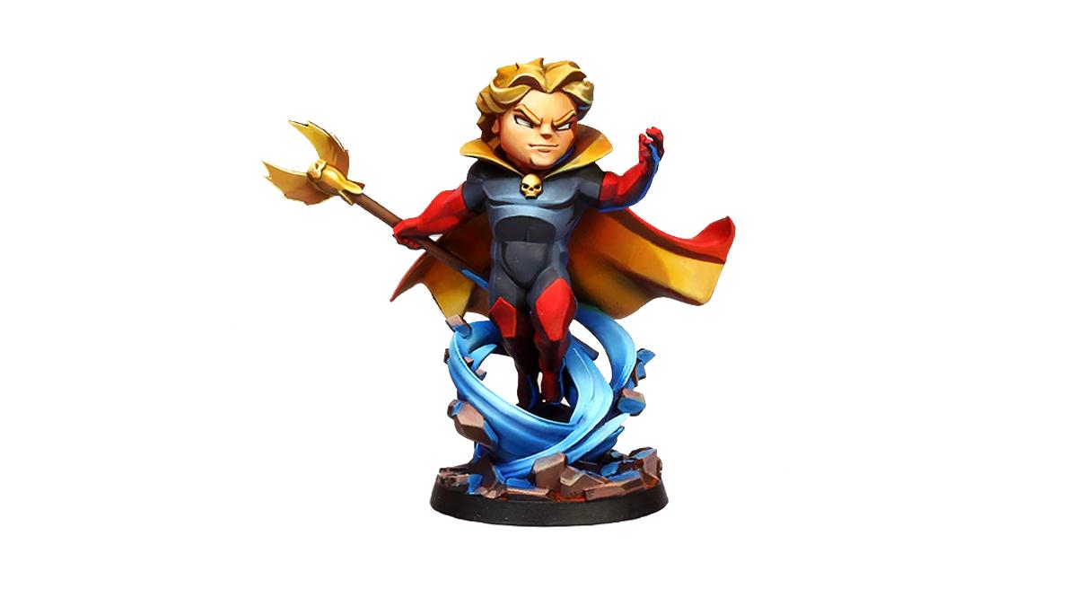 Marvel United - La miniatura di Adam Warlock dipinta da BigChild Creations