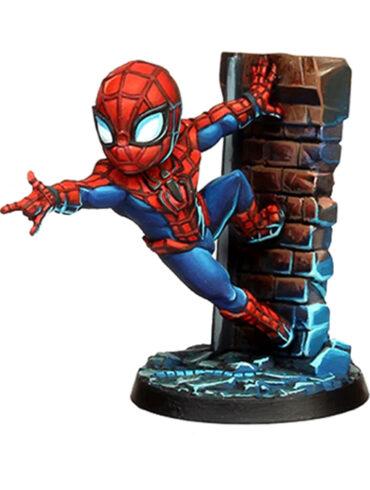 Marvel United - La miniatura di Spider-Man dipinto da BigChild Creations