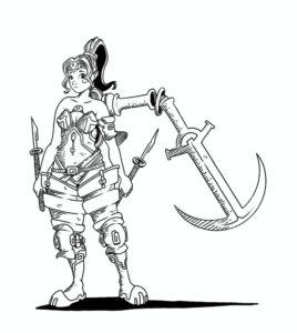 Colostle - La classe giocabile The Armed